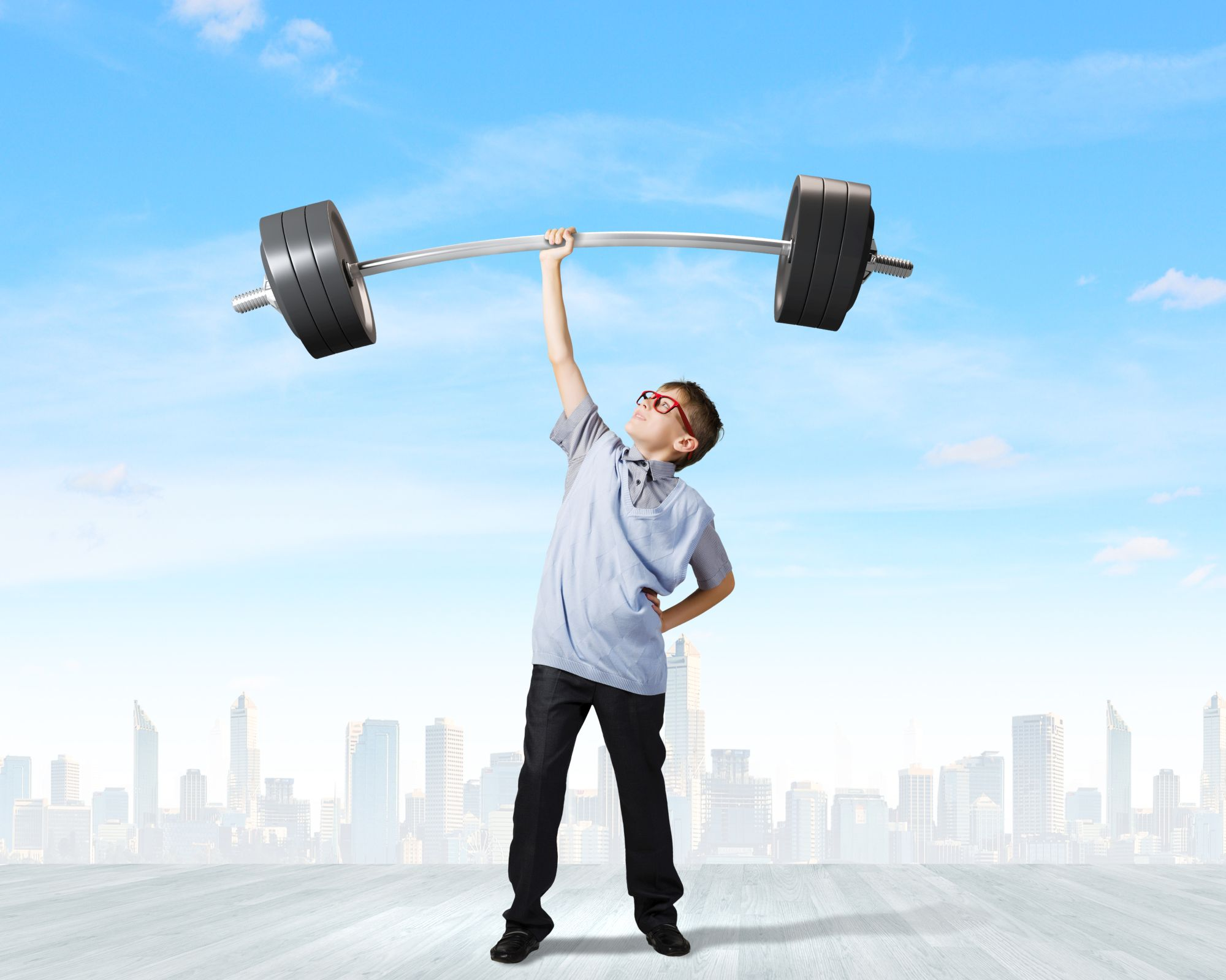 TFW Brooklyn Can Children Lift Weights?